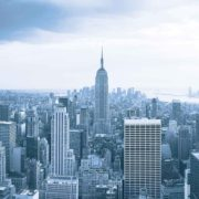 Posters Fototapeta New York City Empire State Building 104x70.5 cm - 130g/m2 Vlies Non-Woven - Posters