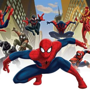 Posters Fototapeta Spiderman Marvel 104x70.5 cm - 130g/m2 Vlies Non-Woven - Posters