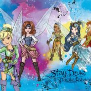 Posters Fototapeta Disney Pirate Fairies 104x70.5 cm - 130g/m2 Vlies Non-Woven - Posters