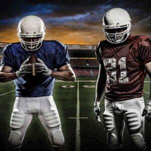 Posters Fototapeta American Football Stadium 104x70.5 cm - 130g/m2 Vlies Non-Woven - Posters