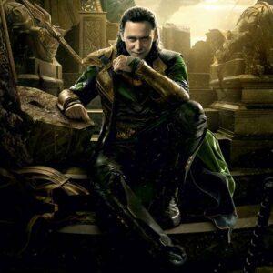 Posters Fototapeta Marvel Avengers Loki 208x146 cm - 130g/m2 Vlies Non-Woven - Posters