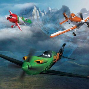 Posters Fototapeta Disney Planes 152.5x104 cm - 130g/m2 Vlies Non-Woven - Posters