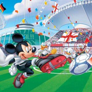 Posters Fototapeta Disney Mickey Mouse 104x70.5 cm - 130g/m2 Vlies Non-Woven - Posters