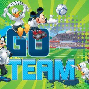 Posters Fototapeta Disney Mickey Mouse 254x184 cm - 115g/m2 Paper - Posters