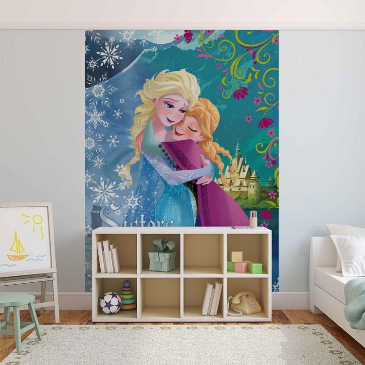 Posters Fototapeta Disney Frozen 254x184 cm - 115g/m2 Paper - Posters