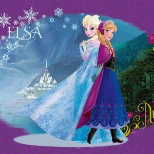 Posters Fototapeta Disney Frozen 104x70.5 cm - 130g/m2 Vlies Non-Woven - Posters