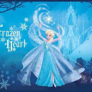 Posters Fototapeta Disney Frozen Elsa 104x70.5 cm - 130g/m2 Vlies Non-Woven - Posters