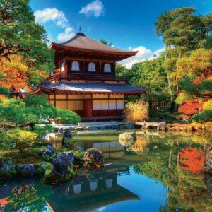 Posters Fototapeta Temple Zen Japan Culture 254x184 cm - 115g/m2 Paper - Posters