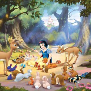 Posters Fototapeta Disney Princesses Snow White 152.5x104 cm - 130g/m2 Vlies Non-Woven - Posters