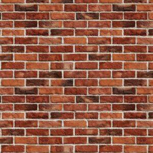 Posters Fototapeta Brick Wall 152.5x104 cm - 130g/m2 Vlies Non-Woven - Posters