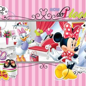 Posters Fototapeta Disney Minnie Mouse Daisy Duck 254x184 cm - 115g/m2 Paper - Posters