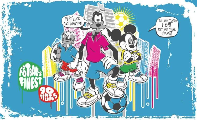 Posters Fototapeta Disney Mickey Mouse 152.5x104 cm - 130g/m2 Vlies Non-Woven - Posters