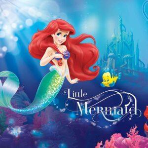 Posters Fototapeta Disney Princesses Ariel 152.5x104 cm - 130g/m2 Vlies Non-Woven - Posters
