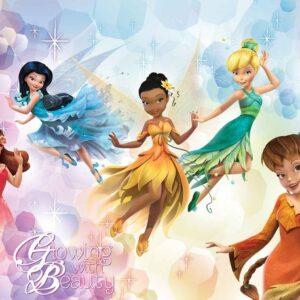 Posters Fototapeta Disney Fairies Iridessa Fawn Rosetta 152.5x104 cm - 130g/m2 Vlies Non-Woven - Posters