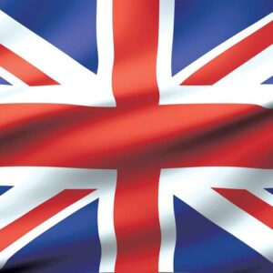 Posters Fototapeta Flag Great Britain UK 152.5x104 cm - 130g/m2 Vlies Non-Woven - Posters