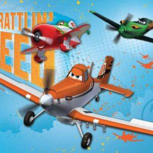 Posters Fototapeta Disney Planes 254x184 cm - 115g/m2 Paper - Posters