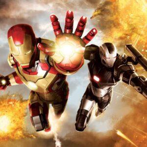 Posters Fototapeta Iron Man Marvel Avengers 152.5x104 cm - 130g/m2 Vlies Non-Woven - Posters