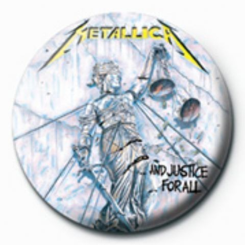 Posters Placka METALLICA - justice for all GB - Posters