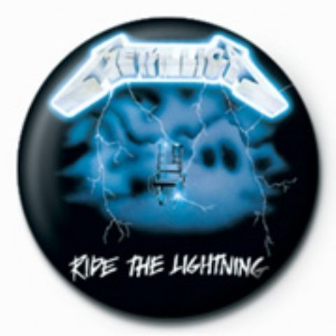 Posters Placka METALLICA - ride the lightening GB - Posters