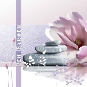 Posters Fototapeta Flower 250x104 cm - 130g/m2 Vlies Non-Woven - Posters