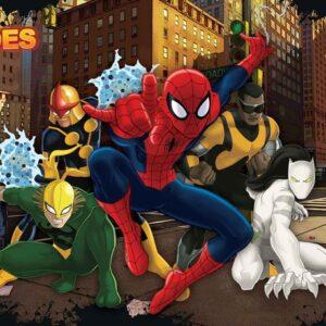 Posters Fototapeta Spiderman Marvel 152.5x104 cm - 130g/m2 Vlies Non-Woven - Posters