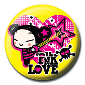 Posters Placka PUCCA - yellow punk love - Posters