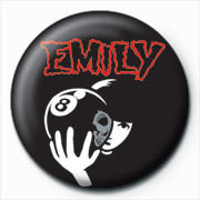 Posters Placka Emily The Strange - 8 ball - Posters