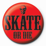 Posters Placka SKATE OR DIE - red - Posters