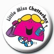 Posters Placka MR MEN (Little Miss Chatterbox) - Posters