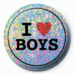 Posters Placka I LOVE BOYS - Posters