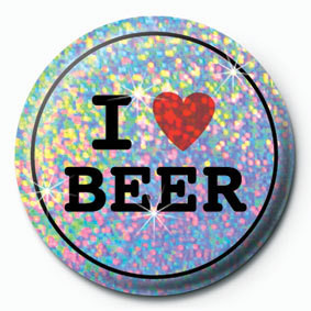 Posters Placka I LOVE BEER - Posters
