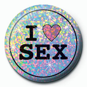 Posters Placka I LOVE SEX - Posters