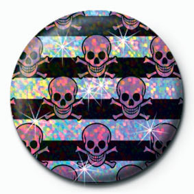 Posters Placka MULTI SKULL - Pink - Posters