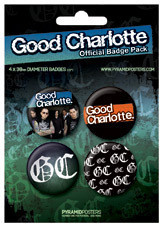 Posters Placka GOOD CHARLOTTE - Posters