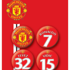 Posters Placka MANCH. UNITED - Players 1 - Posters