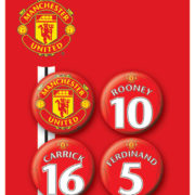 Posters Placka MANCH. UNITED - Players 2 - Posters