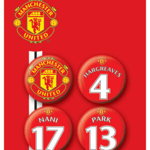 Posters Placka MANCH. UNITED - Players 3 - Posters