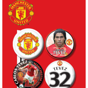 Posters Placka MANCH. UNITED - Tevez - Posters