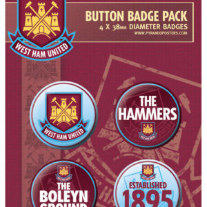 Posters Placka WEST HAM UNITED - The hammers - Posters
