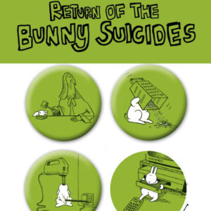 Posters Placka BUNNY SUICIDES - Pack 2 - Posters