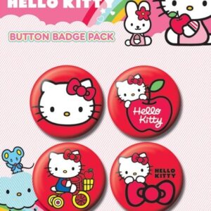 Posters Placka HELLO KITTY - red - Posters