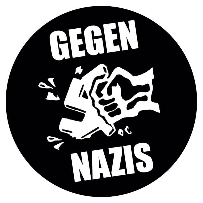 Posters Samolepka GEGEN NAZIS - Posters