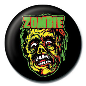 Posters Placka ROB ZOMBIE - zombie face - Posters