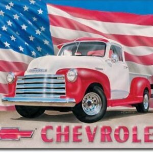 Posters Plechová cedule CHEVY 51 - pick up