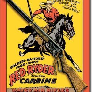 Posters Plechová cedule DAISY RED RYDER CARBINE