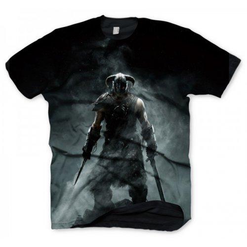 Tričko Skyrim - Dragonborn