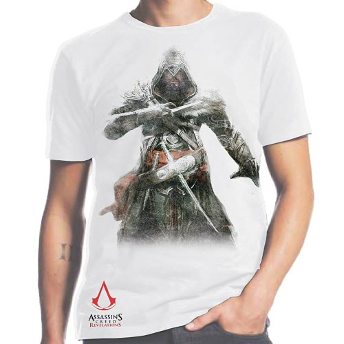 Tričko Assassins Creed: Revelations Ezio white
