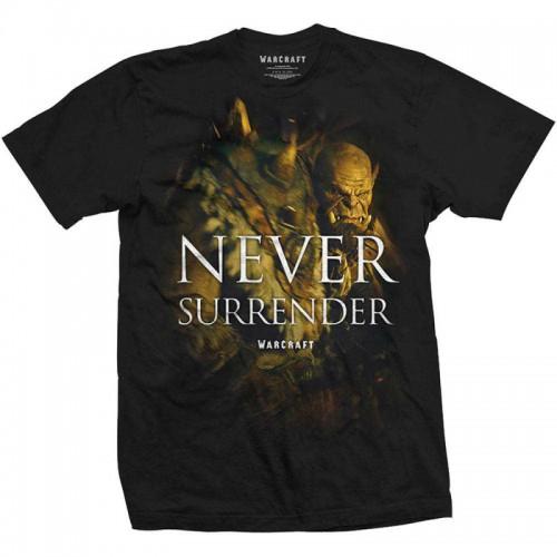 Tričko World of Warcraft - Never Surrender