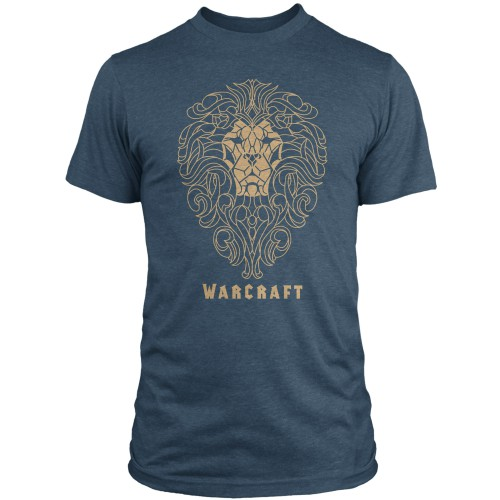 Tričko Warcraft - Alliance Filigree