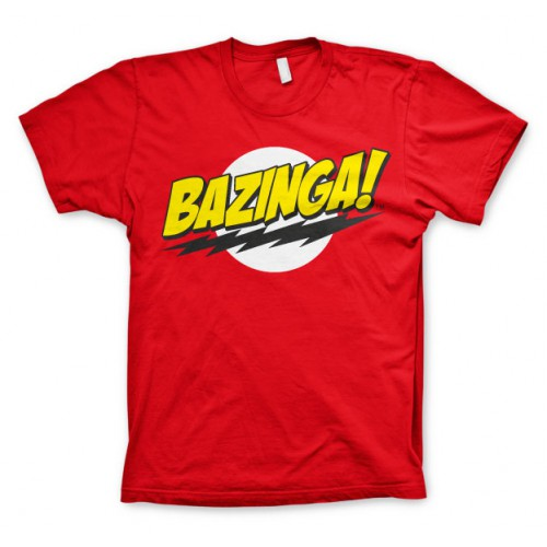 Tričko The Big Bang Theory: Bazinga
